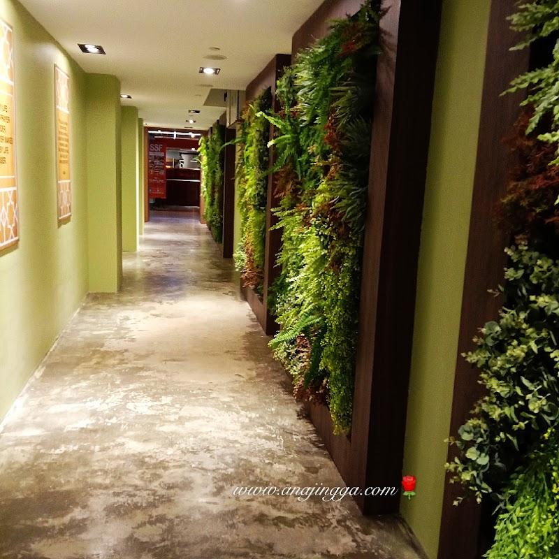 Surau cantik di Sunway Putra Mall