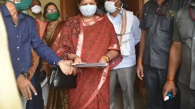 Nainpur news : स्वास्थ्य सुविधा पटरी पर हो, Mandla press club