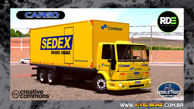 FORD CARGO - SEDEX (ROMEU E JULIETA)