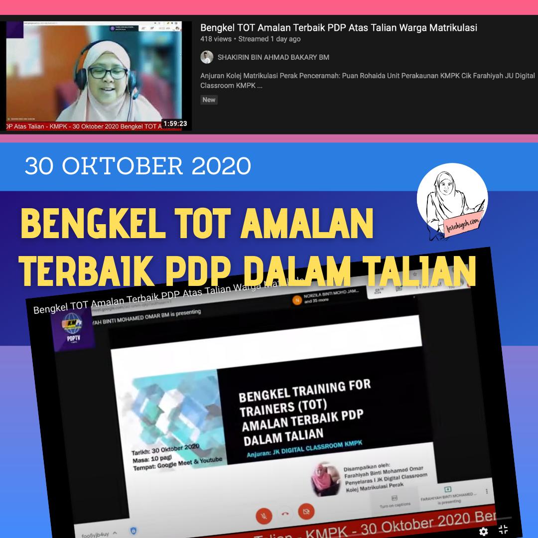 Amalan Terbaik PdP dalam talian