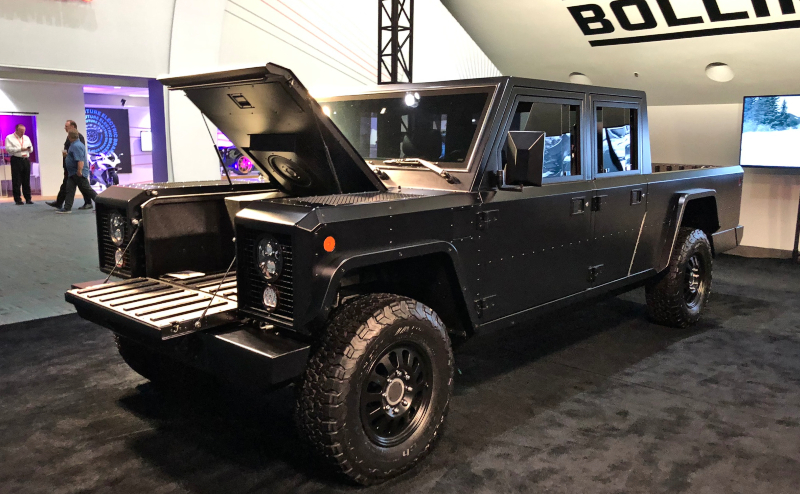 Bollinger to Offer Chassis Cab Version of Electric Truck