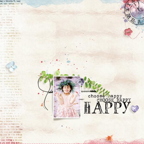 choose happy © sylvia • sro 2019 • hello you by chunlin designs