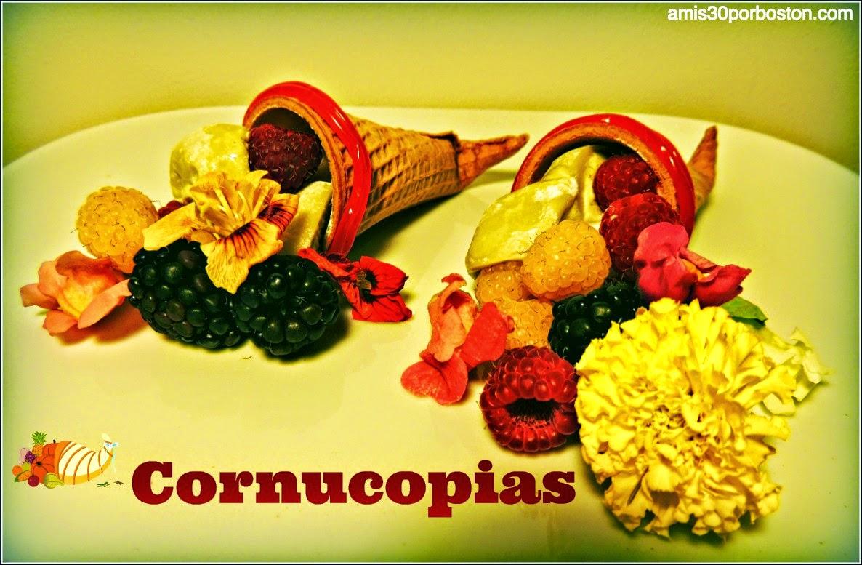 Cornucopia: Símbolos de Acción de Gracias