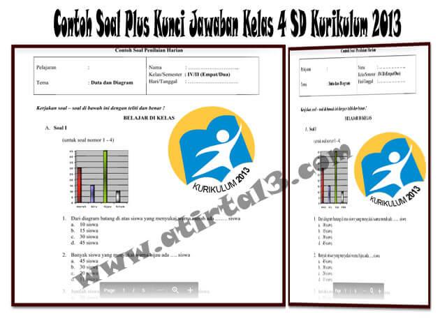 Download Contoh Soal Plus Kunci Jawaban Kelas 4 SD Kurikulum 2013