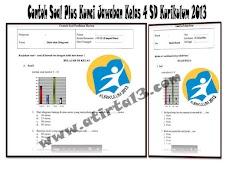 Contoh Soal Plus Kunci Jawaban Kelas 4 SD Kurikulum 2013