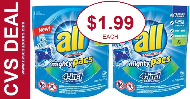 All Mighty Pacs CVS Coupon Deal 4-19-4-25
