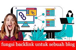 Fungsi backlink untuk blog