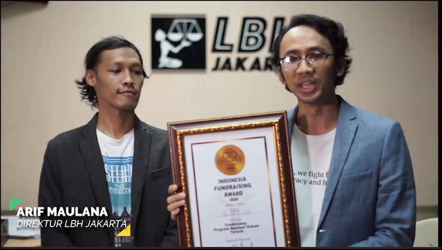 Kategori Fundraising Program Bantuan Hukum Terbaik: LBH Indonesia