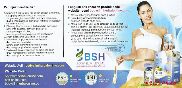 Brosur Body Slim Herbal Terbaru