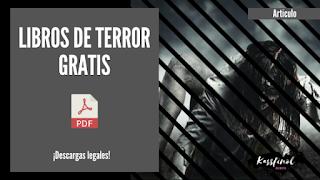 libros de terror gratis en pdf