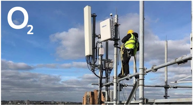 O2 UK Getting 5G Ready...
