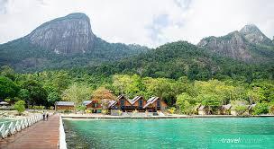 Playa Tunamaya lugares para visitar en malasia