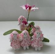 Mini Bonecas de Pano, Chaveiro