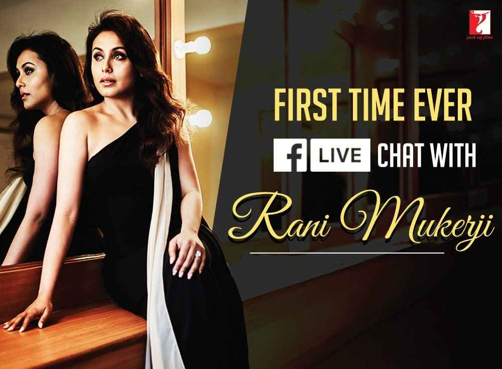 Live Chat with Rani Mukerji
