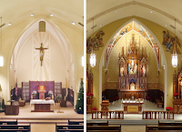 Before and After: St. Mary's in Fennimore, Wisconsin