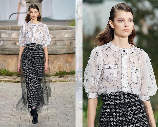 Chanel Couture весна лето 2020 9