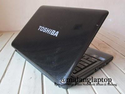 Jual Toshiba L640 Second Mulus