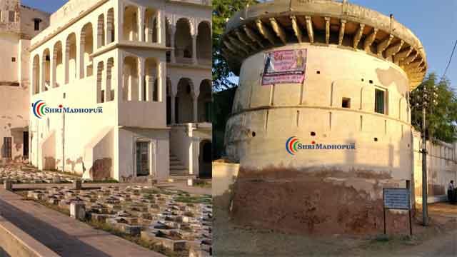 परकोटे से घिरा हुआ है मुकुंदगढ़ का किला