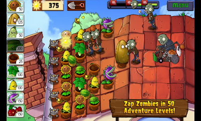 Plants vs. Zombies v1.1.16 MOD APK+DATA untuk android
