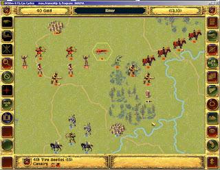 Fantasy General - Fire Beetles Screenshot