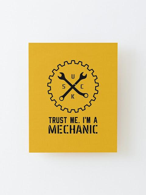 Mechanic humour prints