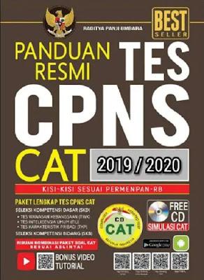 Download Gratis E-BOOK Panduan Resmi Tes CPNS 2019-2020