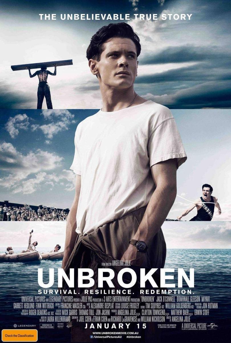 Download Unbroken (2014) Full Movie in Hindi Dual Audio BluRay 720p [1GB]