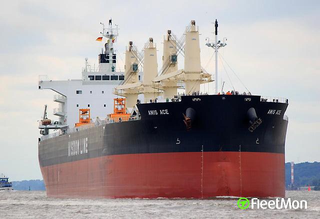 Por primera vez en tres años, un barco cargado con fosfato expoliado del Sáhara Occidental parte hacia EE.UU.
