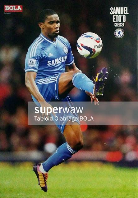 Samuel Eto'o Chelsea 2013