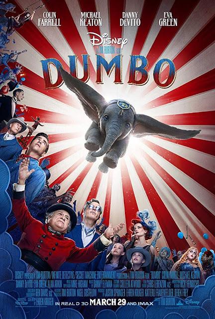 Dumbo 2019 Disney Netflix movie poster
