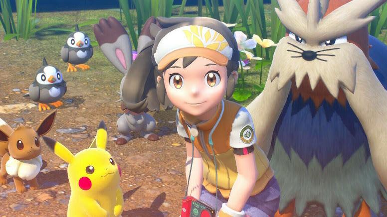New Pokémon Snap - Gráficos