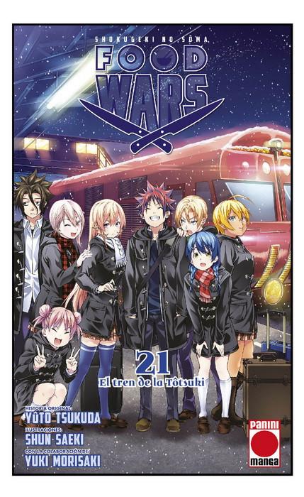 Reseña de Food Wars: Shokugeki no Soma (食戟のソーマ) vol.21 - Panini Manga