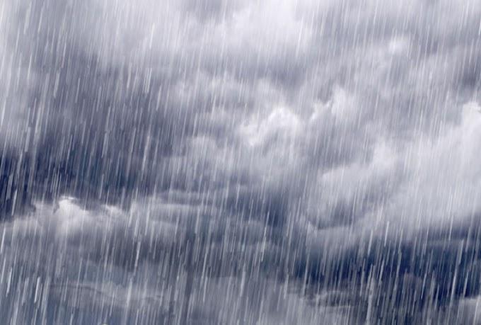 Vórtice Ciclônico provocando chuvas isoladas neste final de janeiro e início de fevereiro no interior da PB
