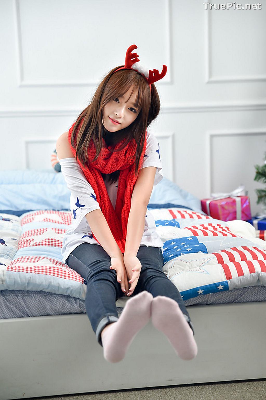 Image Korean Beautiful Model – Ji Yeon – My Cute Princess #2 - TruePic.net - Picture-2