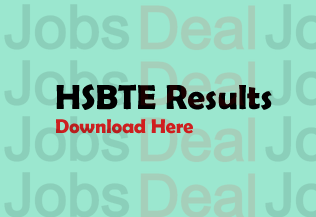 HSBTE Diploma Result 2017