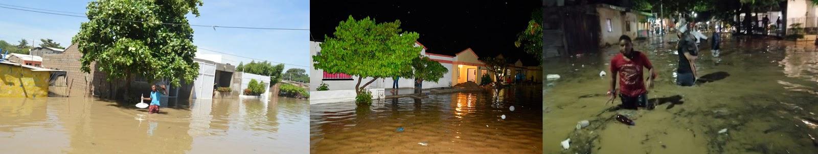 hoyennoticia.com, Inundaciones en 32 barrios de Riohacha por fuertes lluvias