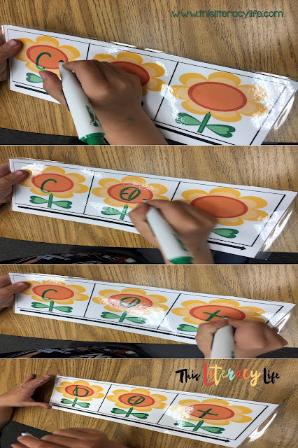 Blending and segmenting sounds has proven to be helpful as children begin to hear individual sounds in words. These sound boxes will help them as they manipulate those sounds.