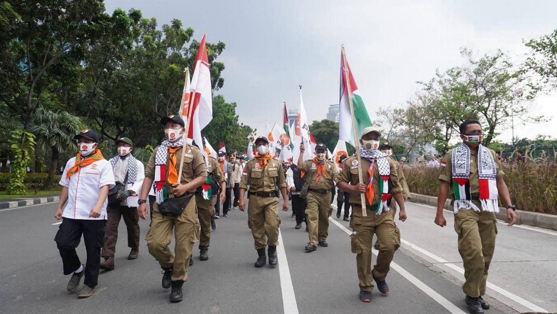 Usai PKS Aksi Bela Palestina, Gaza Menang!