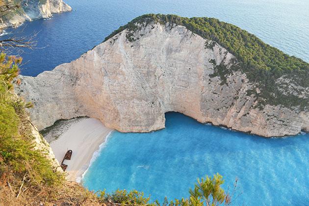 La spiaggia più bella di Grecia
