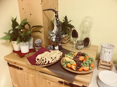 Hotel Pod Wulkanem, Kluszkowce, śniadanie, owoce, ciastka