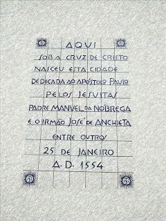 Marco da Fundação de São Paulo