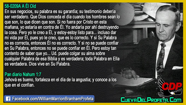 Fortaleza en el día de la angustia - William Branham en Español