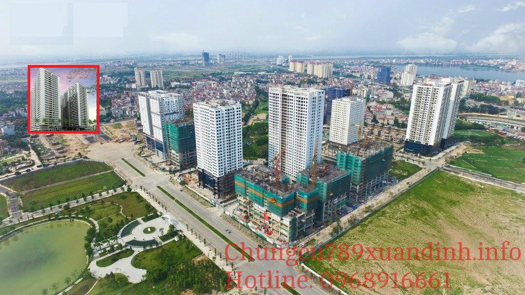 Vị trí dự án Chung cư 789 Xuân Đỉnh
