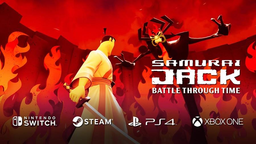samurai jack battle through time aku soleil games adult swim 3D hack and slash action game switch pc steam ps4 xb1