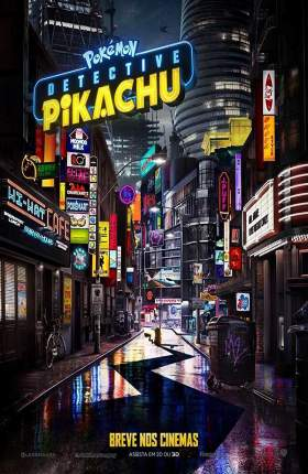 Pokémon Detective Pikachu 2019 Dual Audio Hindi 300MB HDRip 480p