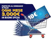Logo Aldi '' La tua opinione conta'' vinci 110 buoni spesa da 300€
