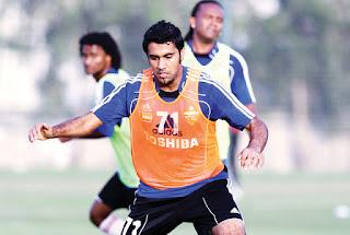 محمد إبراهيم قريب من إرتداء قميص النادي الأهلي