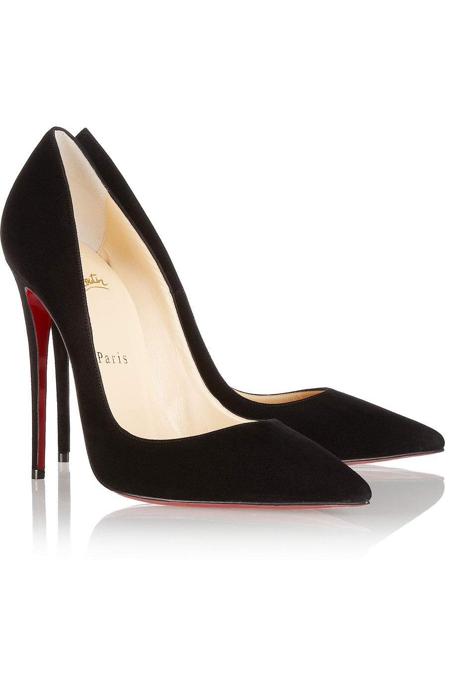 3ac2193a2 CHRISTIAN LOUBOUTIN SO KATE BLACK SUEDE - Reed Fashion Blog