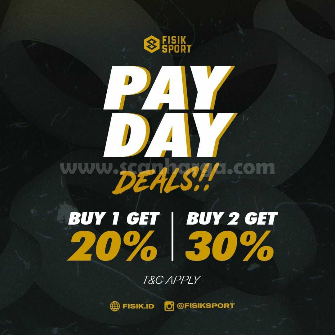 Promo Fisik Sport Payday Deals - Beli 2 Diskon hingga 30%