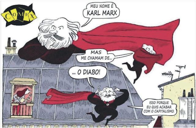 SIMON, Anne e MAIER, Corinne. Marx: uma biografia em quadrinhos. São Paulo: Editora Boitempo, 2018.